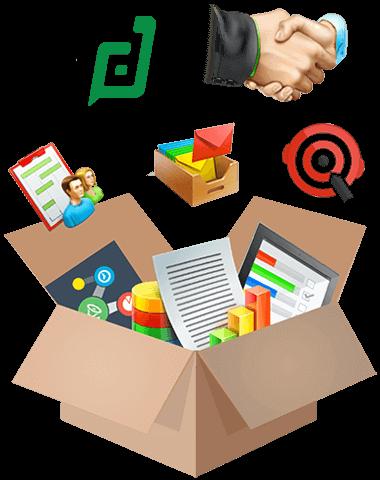 CRM Plus bundle of products